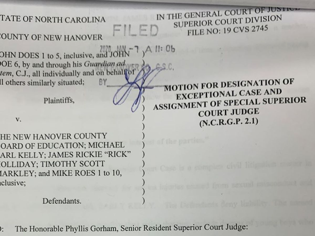Lawsuit Against New Hanover County Schools Could Get Within New Hanover County Court Calender