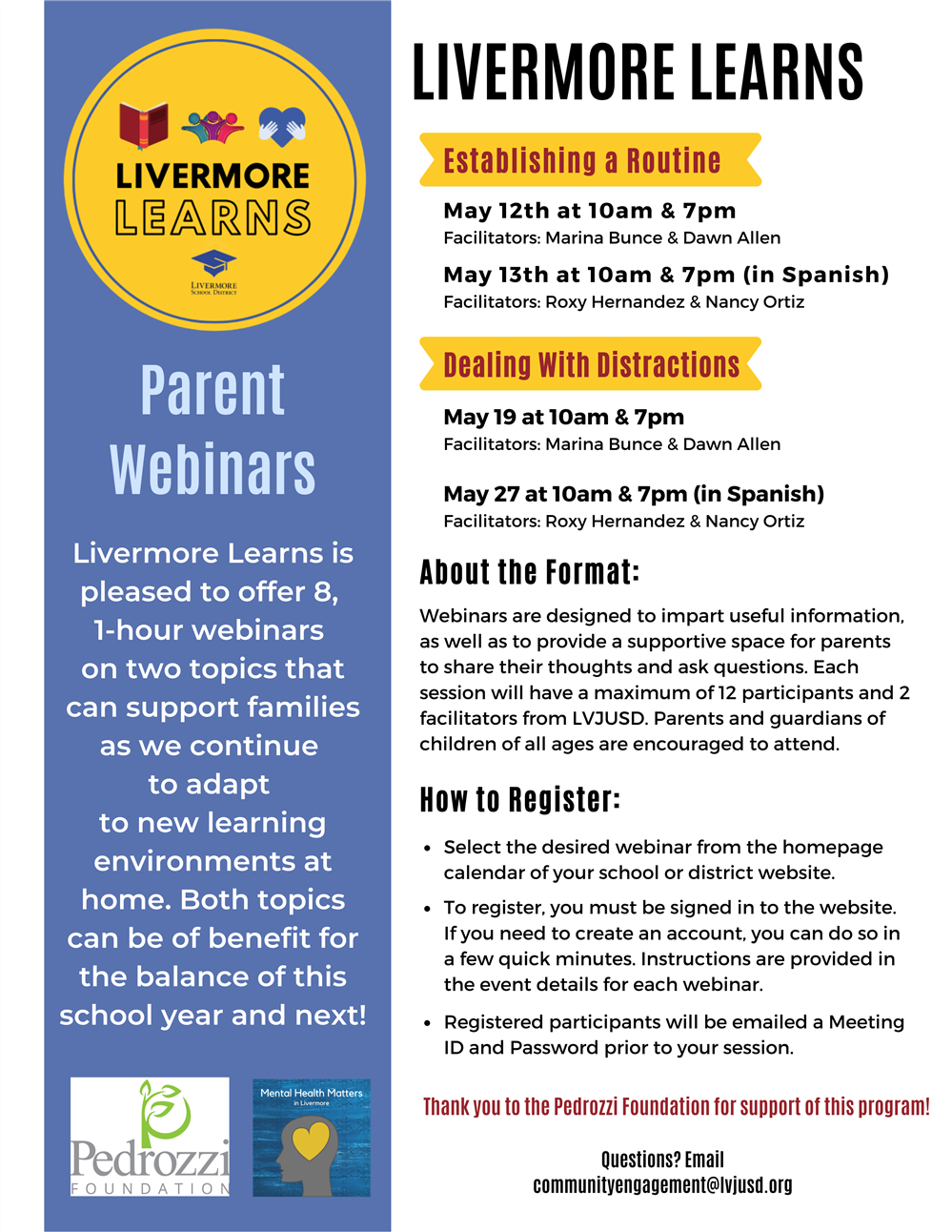Livermore Valley Joint Unified School District / Livermore In Livermore School District Calander