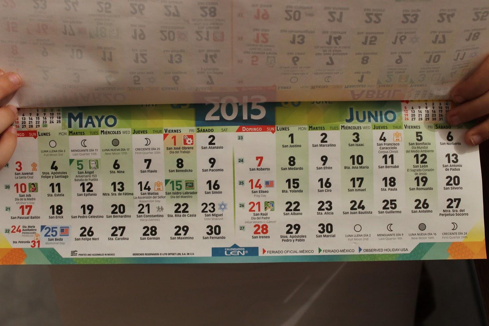 Loving The Land Of The Flour Tortilla: Octubre 2015 regarding Mexican Calendar With Saints Names