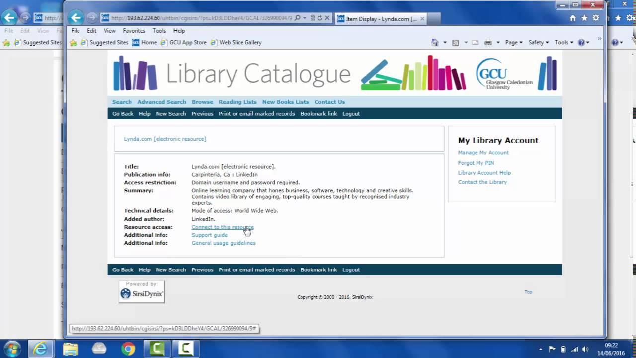 Lynda | It Training | Glasgow Caledonian University For Gcu 2021 2020 Academic Calendar