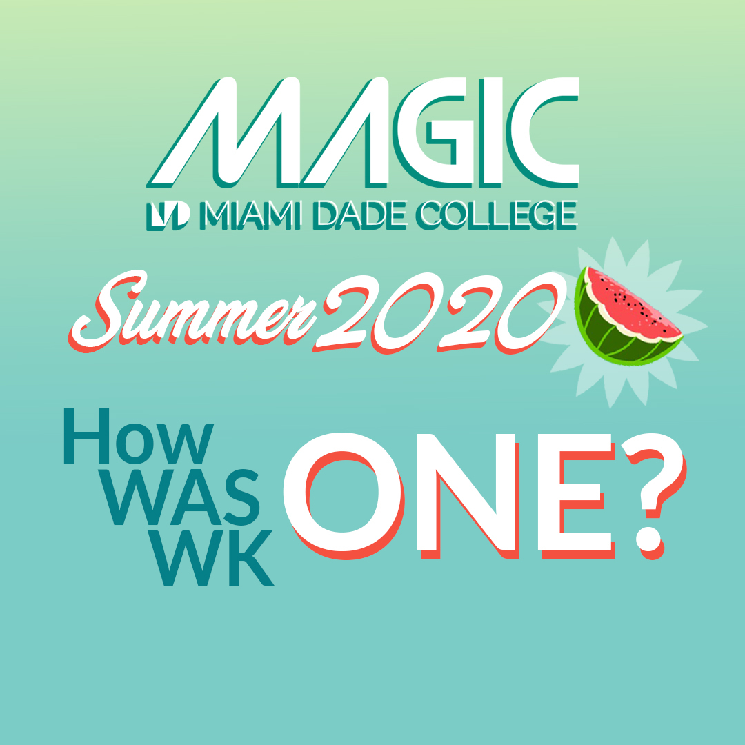 Magic (@magic Mdc)   Twitter Intended For First Day Of Class Miami Dade College Fall 2020