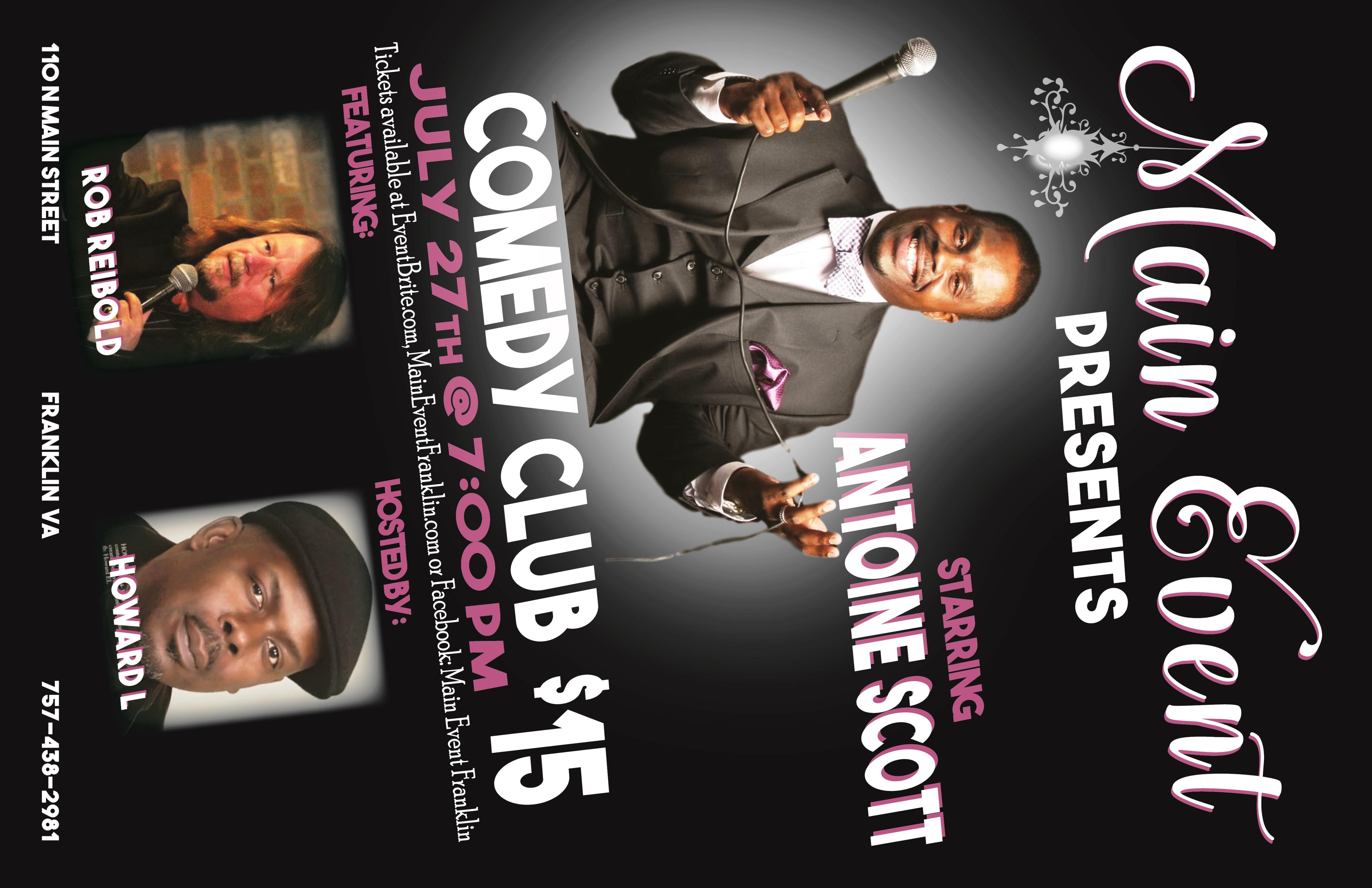 Main Event Presents Comedy Club   Events Calendar   Welcome For Comedy Club Virginia Beach Calendar
