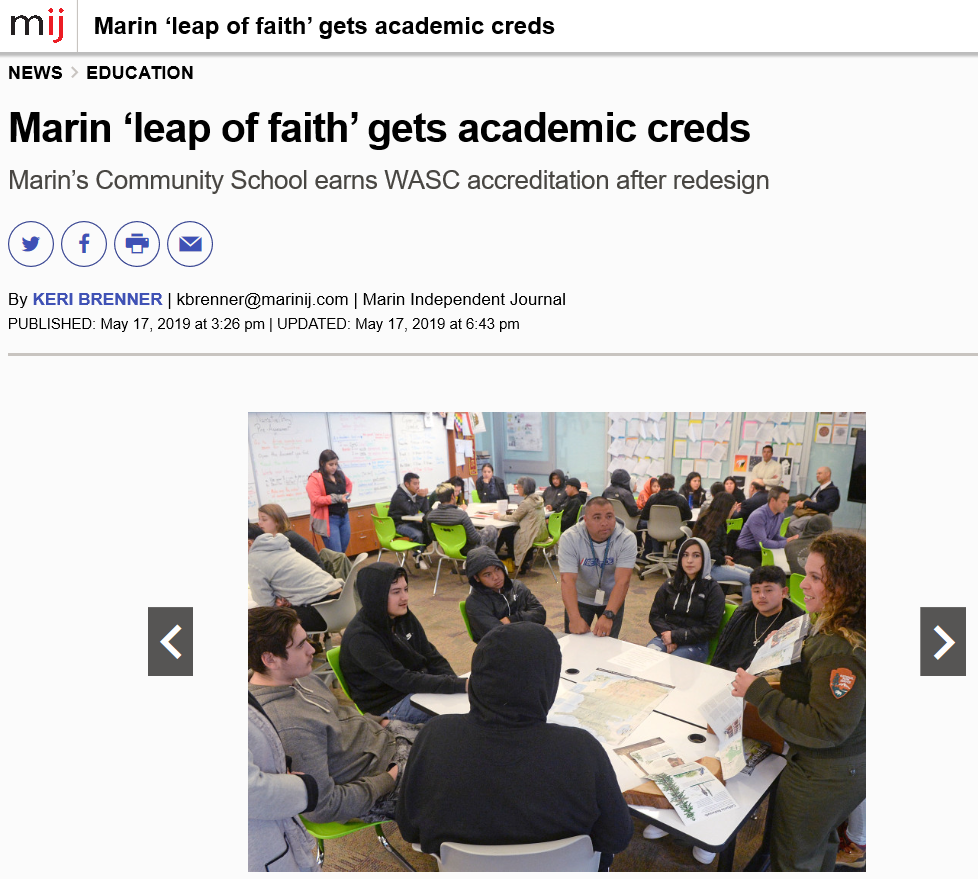Marin County Office Of Education / Homepage In San Rafael Unified School District Calendar