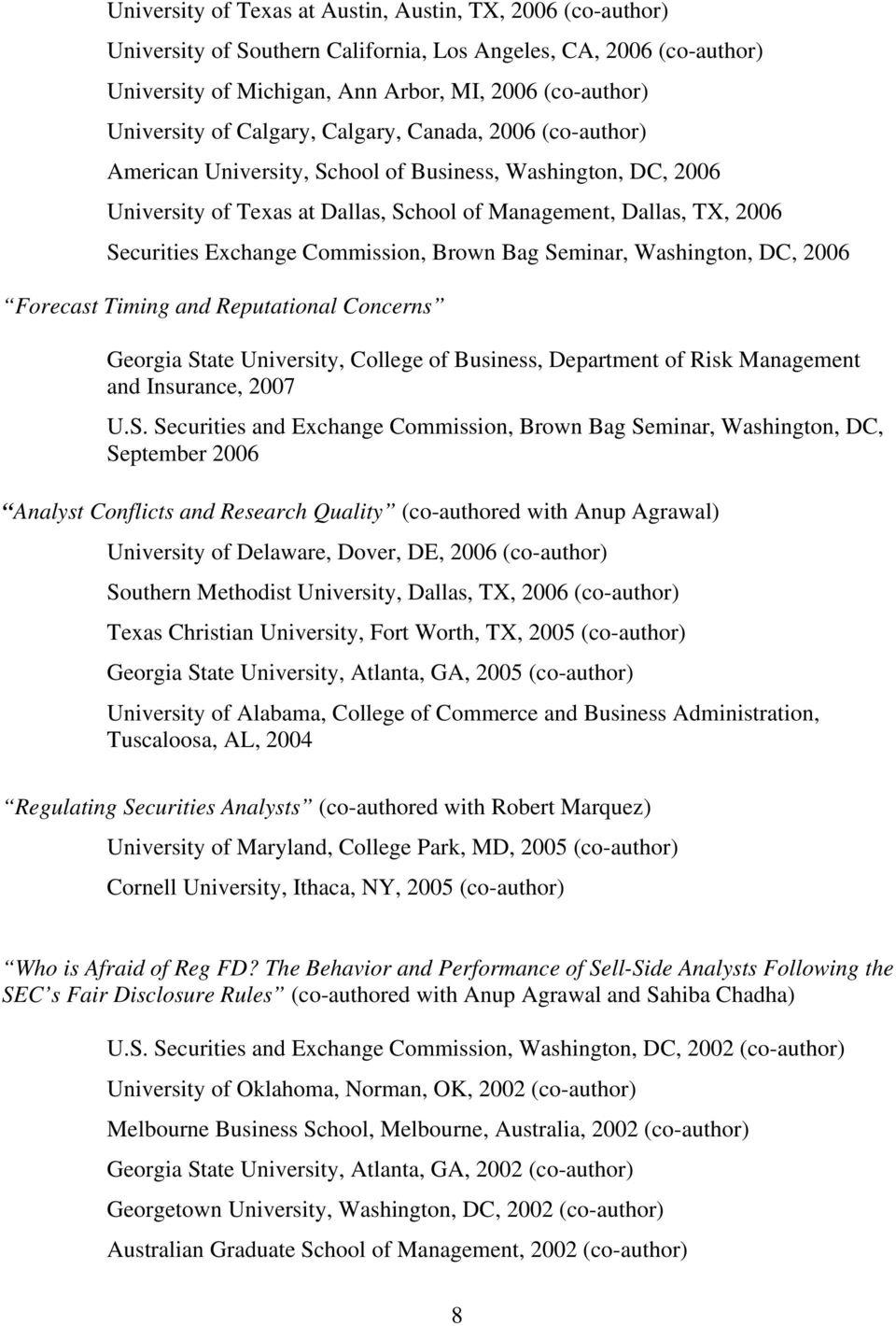Mark A. Chen. J. Mack Robinson College Of Business Georgia Pertaining To Georgia State University Semester Start Date 2004 – 2005