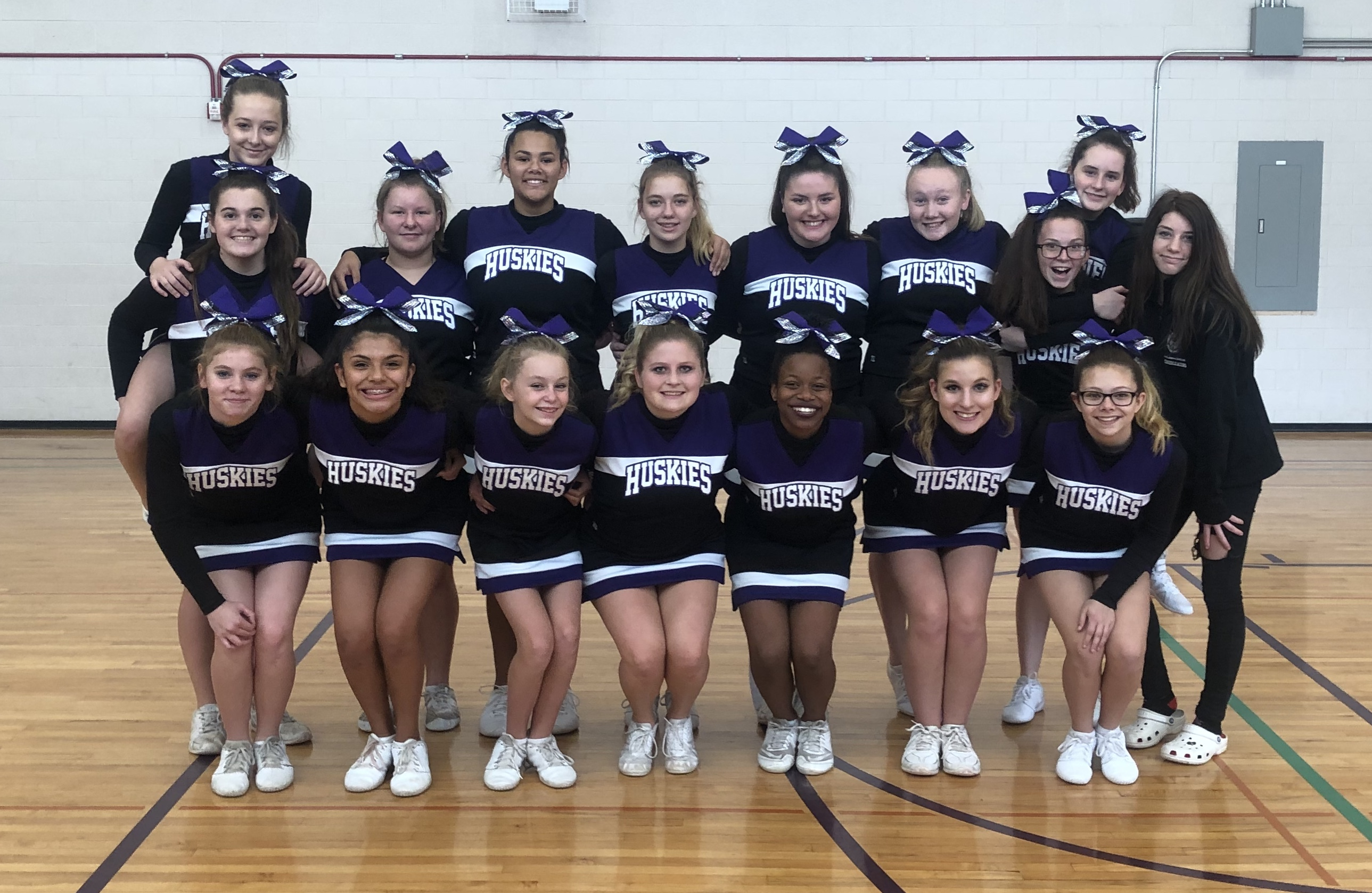 Mc Cheerleaders Finish Third At D6 Cheerleading Throughout Mifflin County School Graduation