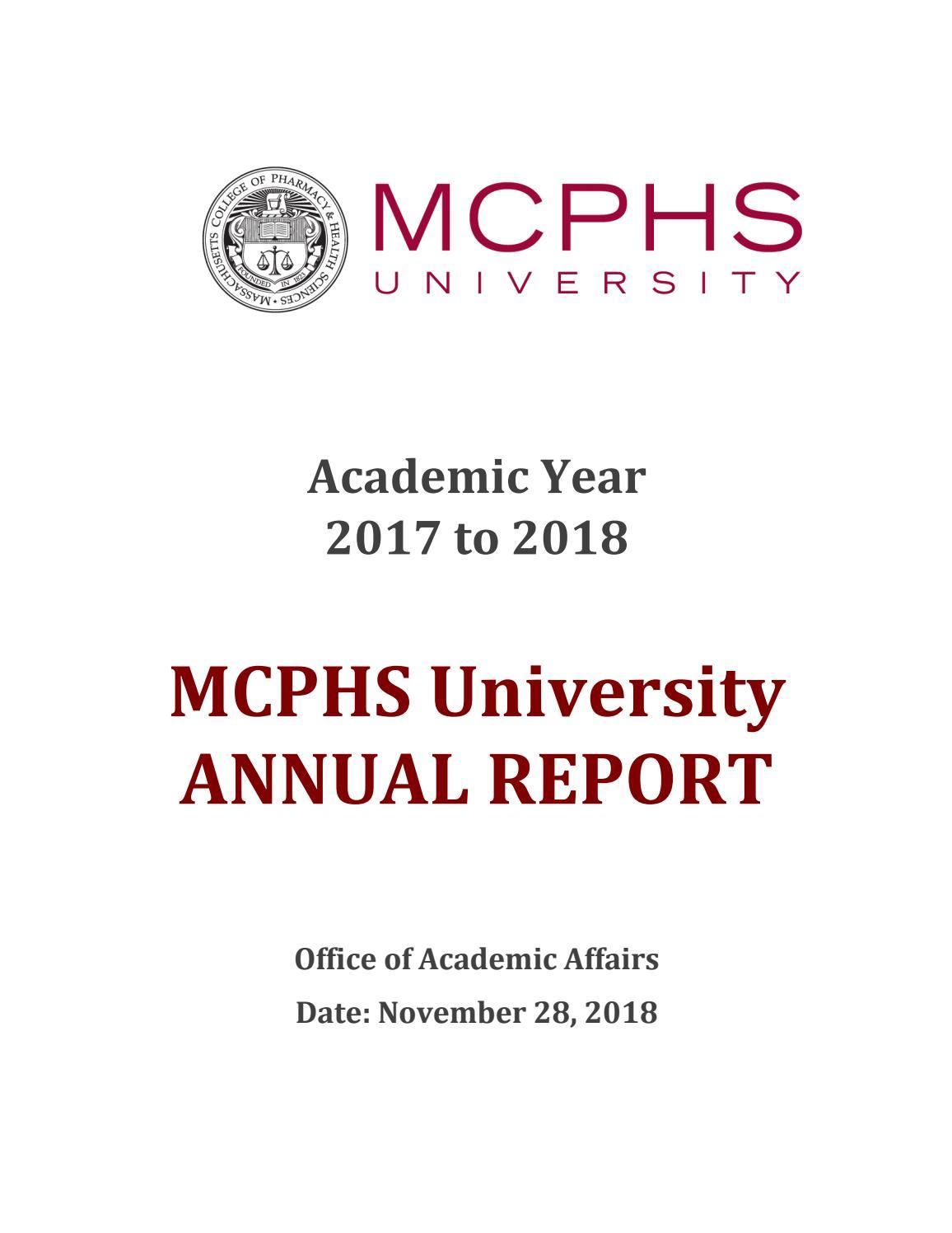 Mcphs University Annual Reportmassachusetts College Of Inside The University Of Phoenix Inc Calendar 2021/2020