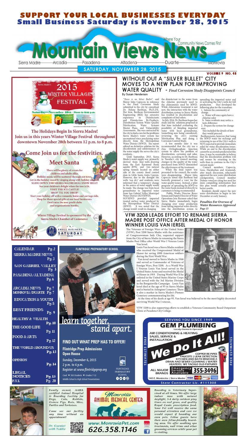 Mvnews 2015 11 28Mountain Views News – Issuu With 2021  2020 Hesperia School District Calendar