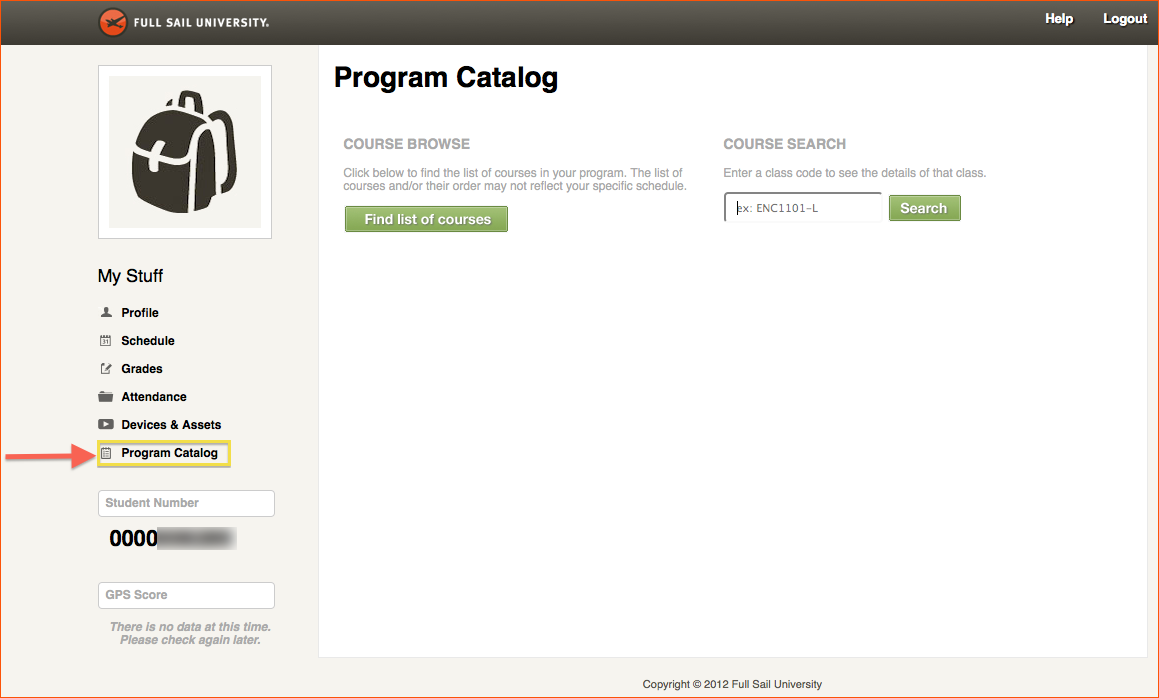 Mystuff - Overview – Technical Support Center Intended For Full Sail University Class Schedule