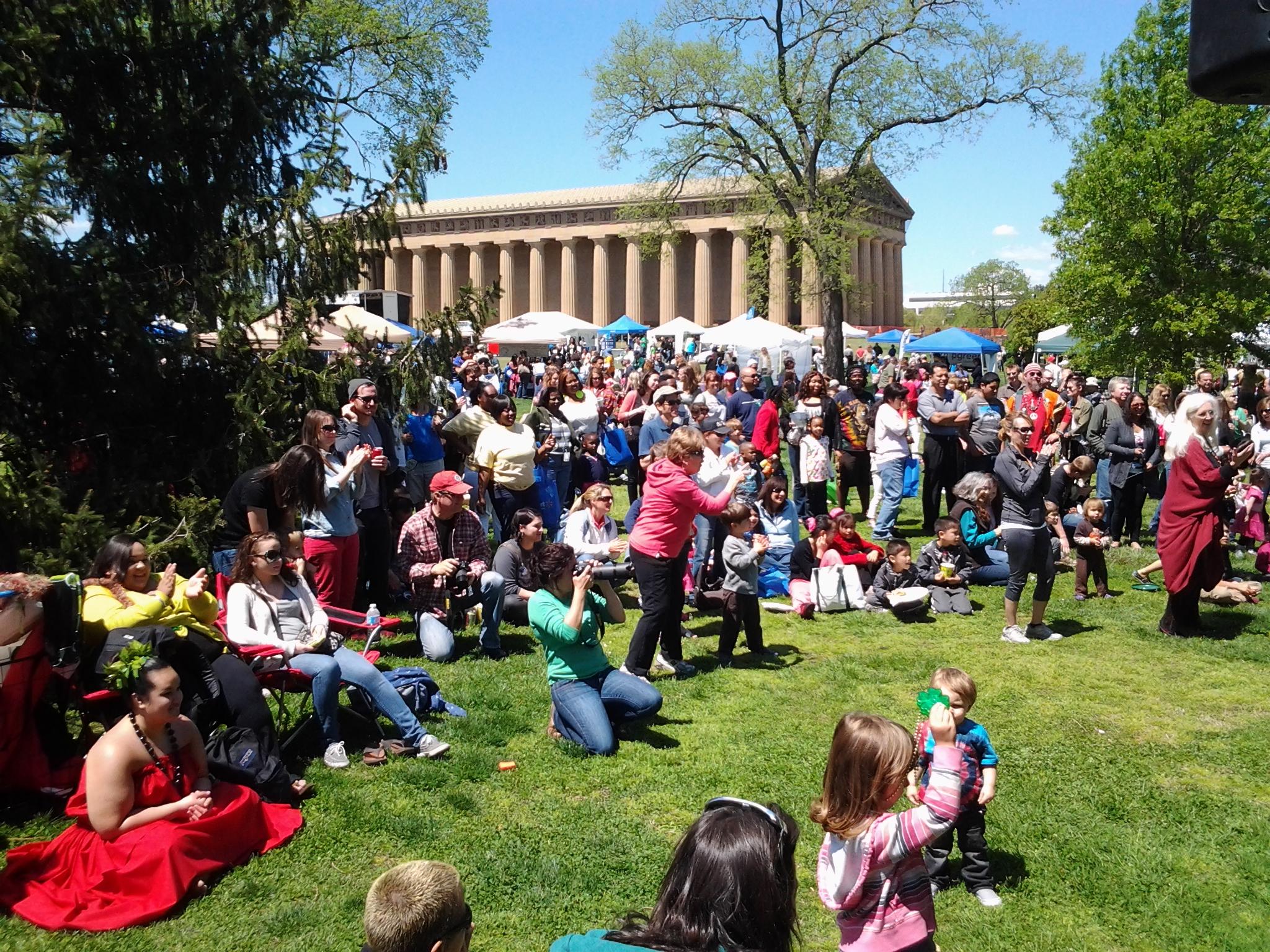 Nashville: Earth Day Festival 2019 | Tncleanfuels In Centennial Park Nashville Events