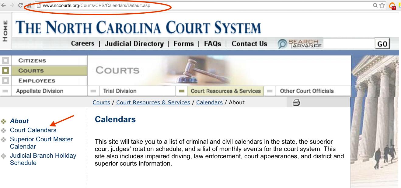 Nc Court Calendar - Optoev For Nc Court Calendar District And Superior