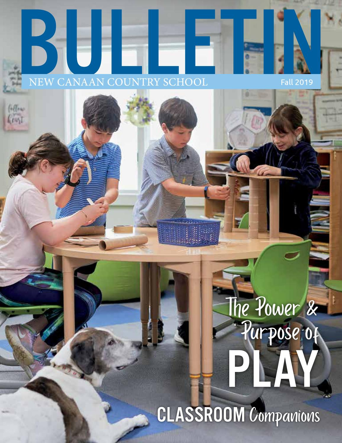 Nccs Bulletin Fall 2019New Canaan Country School - Issuu pertaining to New Canaan Country Day Calendar