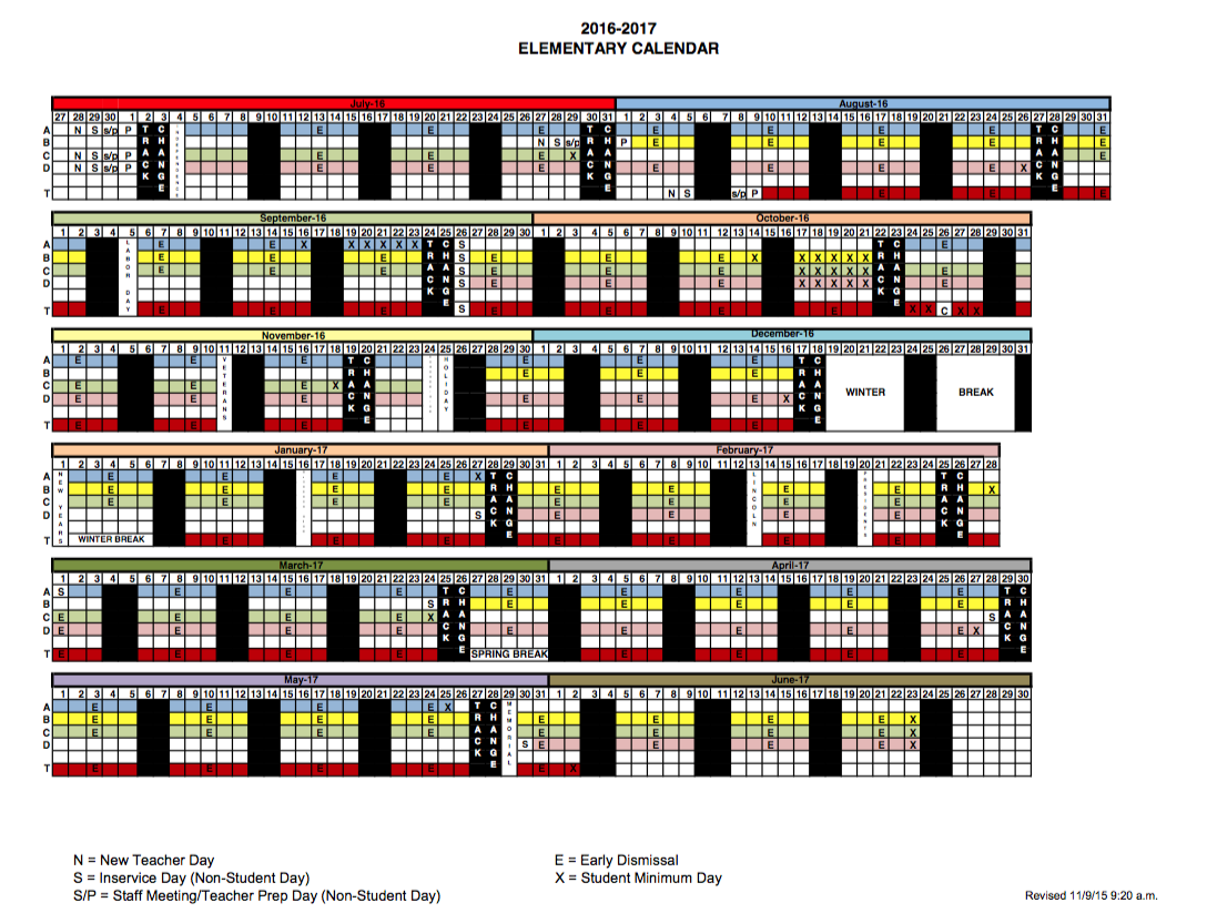 New School Calendars Released – The Cnusd Connection In Corona Norco Usd School Calendar