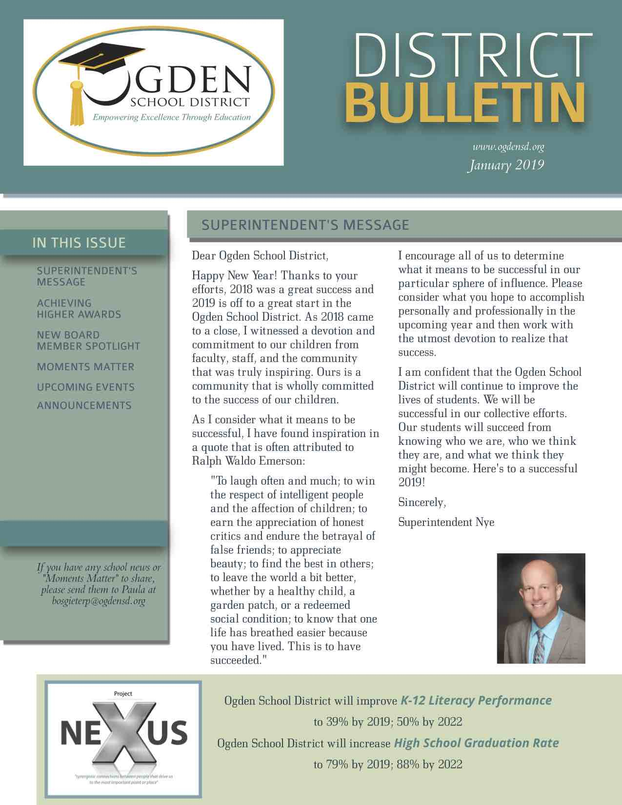 News - Ogden City School District Intended For Ogden City School Calendar 2021