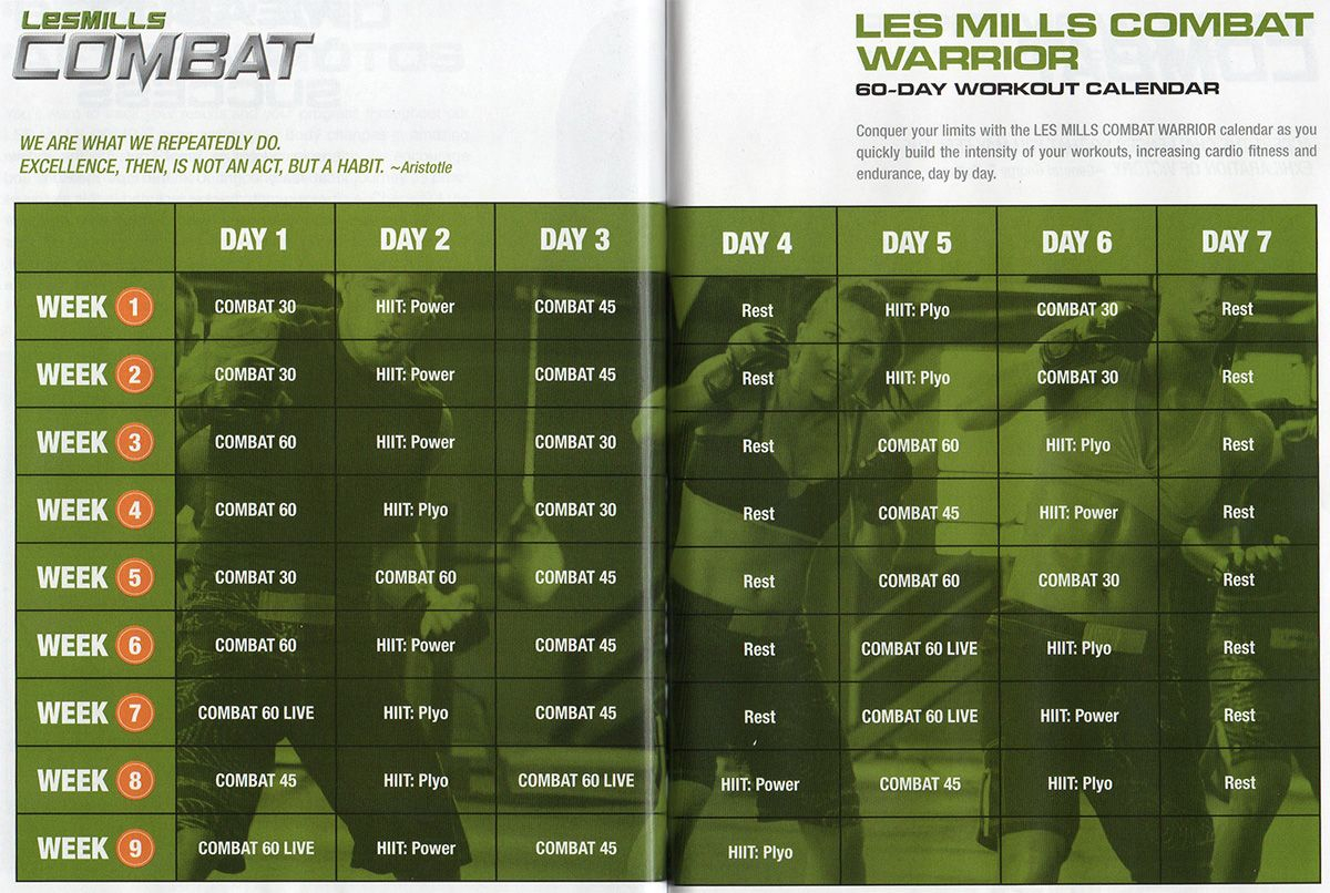 Next Challenge: Les Mills Combat Warrior (With Images)   Les Regarding Body Combat Workout Schedule