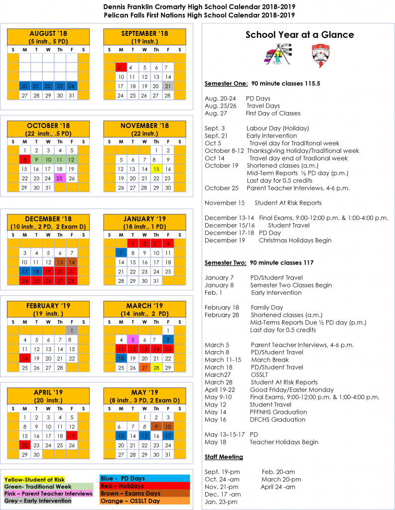 Northern Nishnawbe Education Council   Pelican Falls First Inside Sioux Falls Public Schools School Calendar