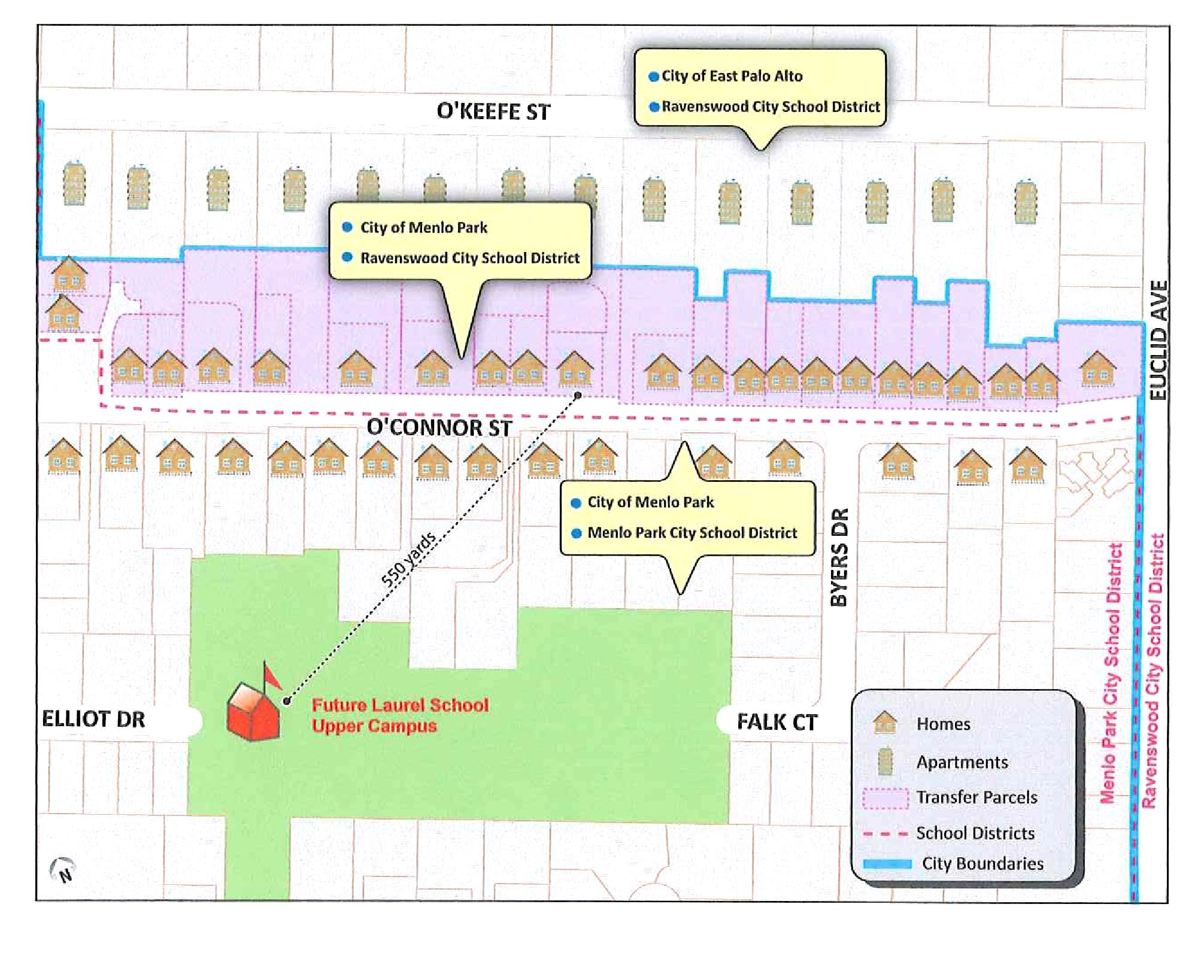 O'connor Street Residents Ask For Transfer Into Menlo Park Inside Schedule For Menlo Parkschool District