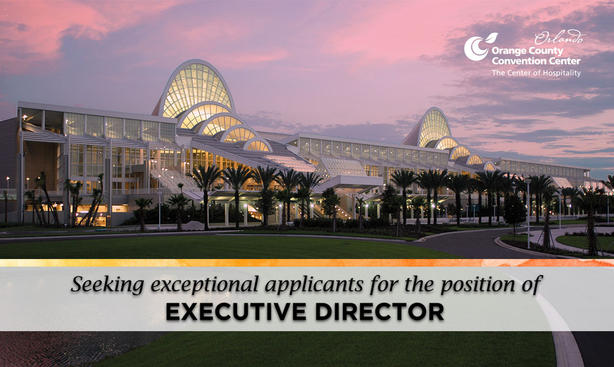 Orange County Convention Center Announces Search For New With Orlando Convention Center Schedule