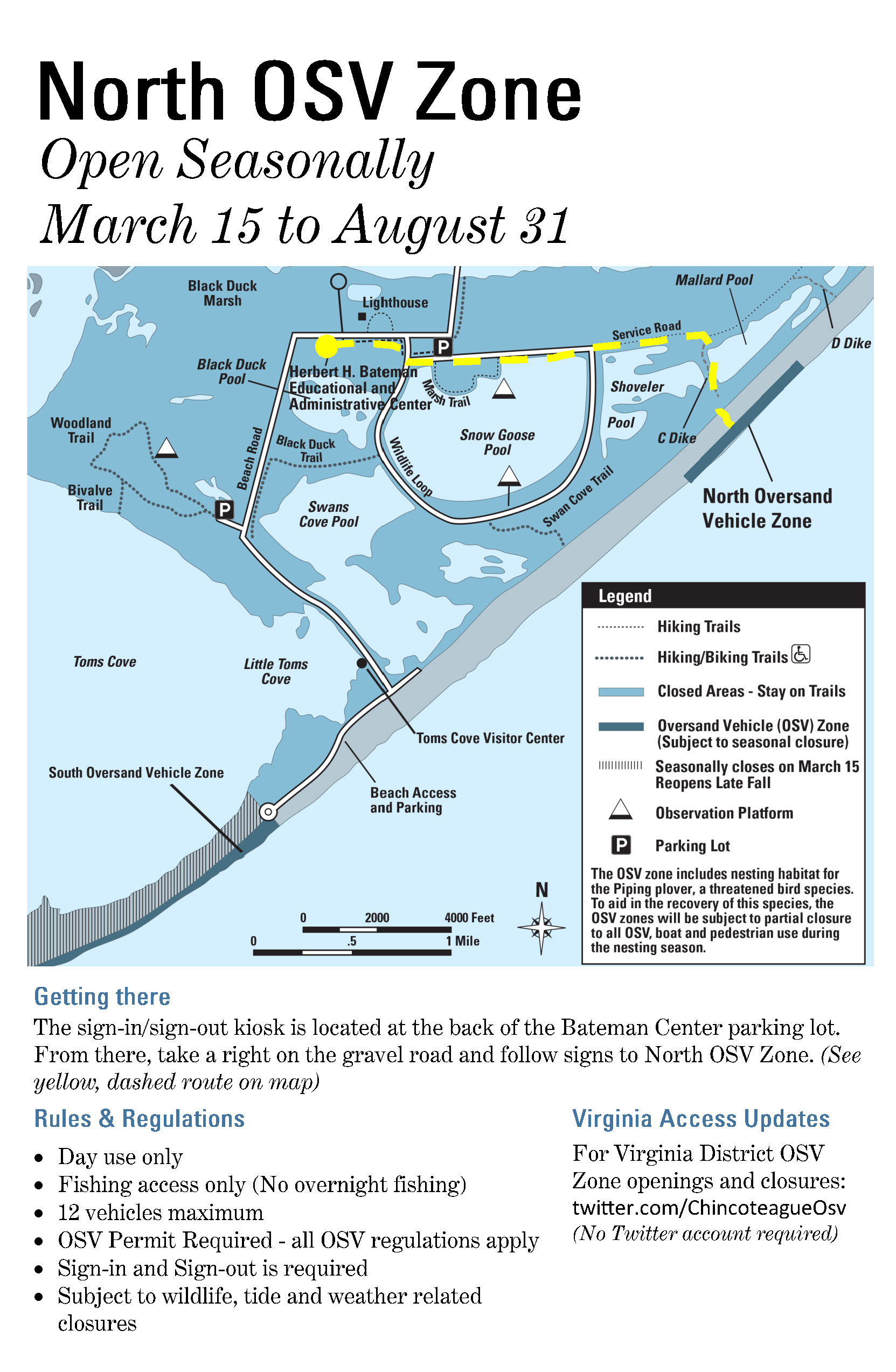 Over Sand Vehicle (Osv) Use – Assateague Island National With Regard To Maryland Hunting Calendar 2021