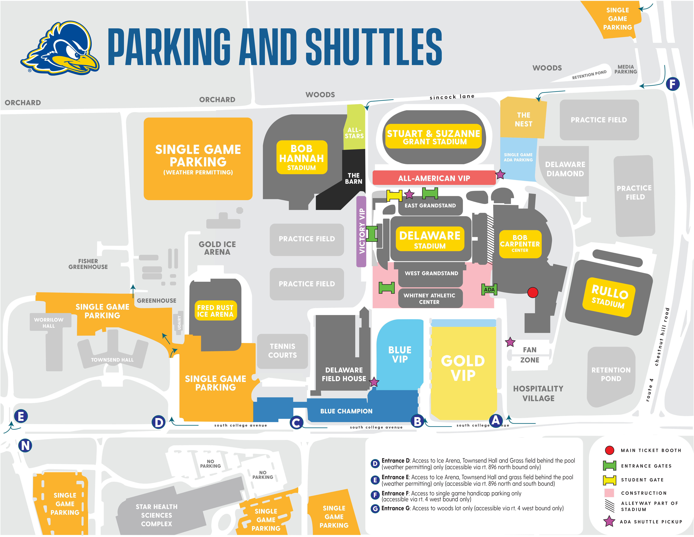 Parking & Tailgating – University Of Delaware Athletics With Univ Of Delaware Academic Calendar