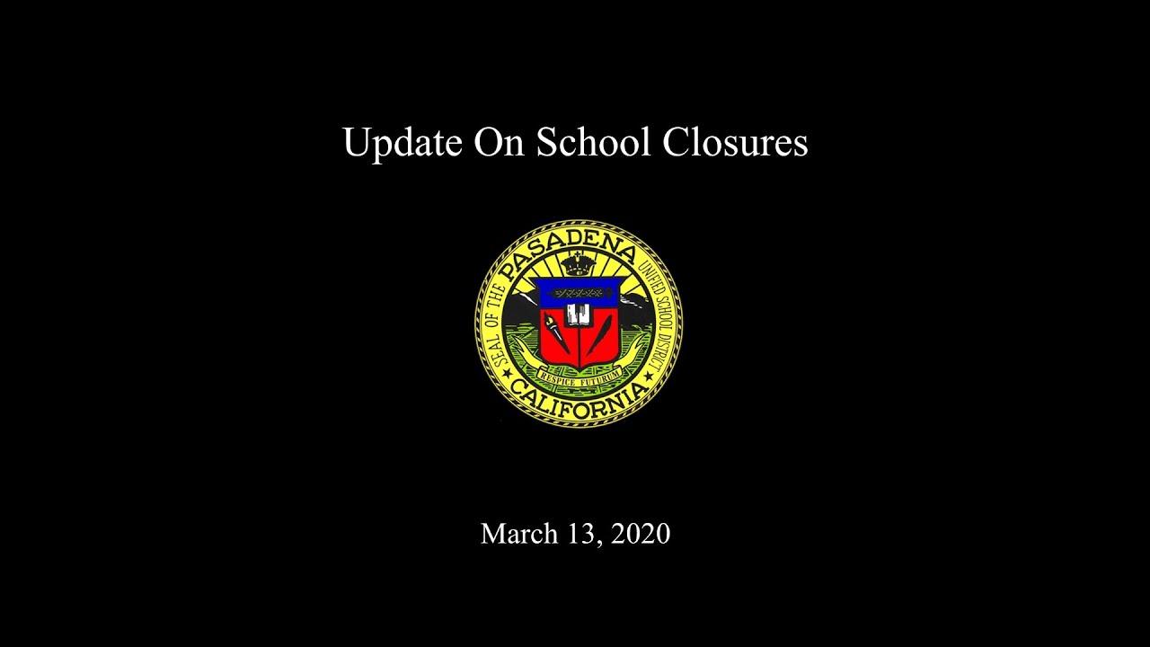 Pasadena Unified School District / Homepage Intended For San Rafael Unified School District Calendar