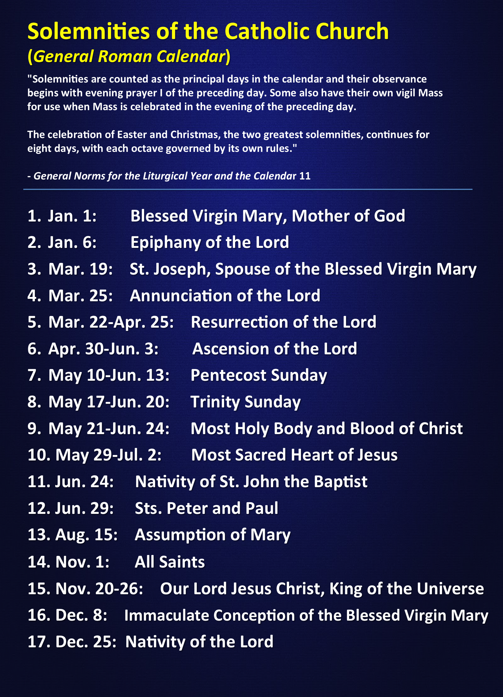 Pin On Liturgical Calendar / Seasons / Colors Throughout Roman Catholic Saint Days Calendar