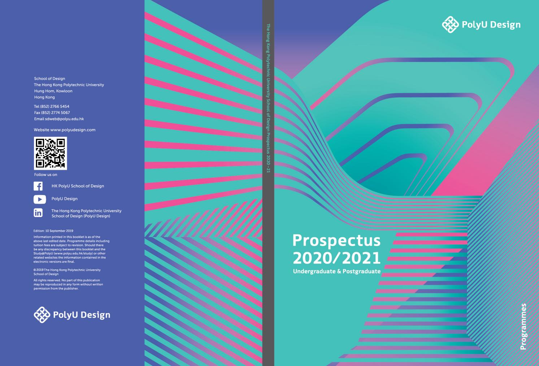 Polyu Design 2020/2021 Prospectus – Programmespolyu In University Of Glasgow Academic Calender 2021