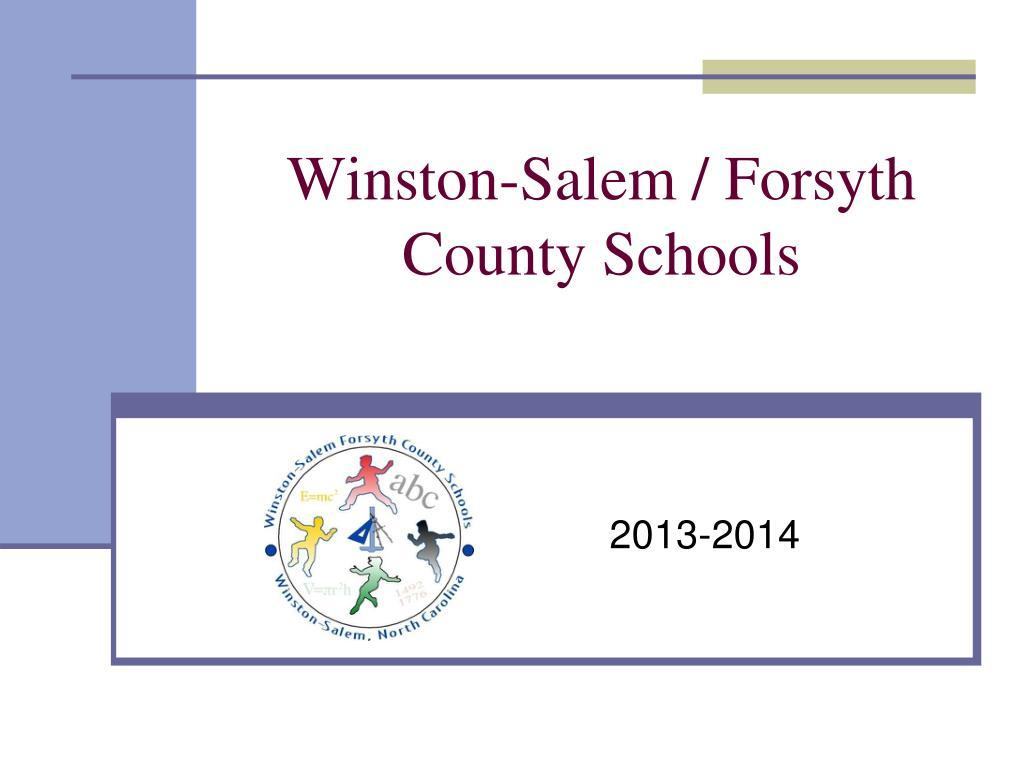 Ppt – Winston Salem / Forsyth County Schools Powerpoint With Winston Salem Salem Forsyth County School Calendar