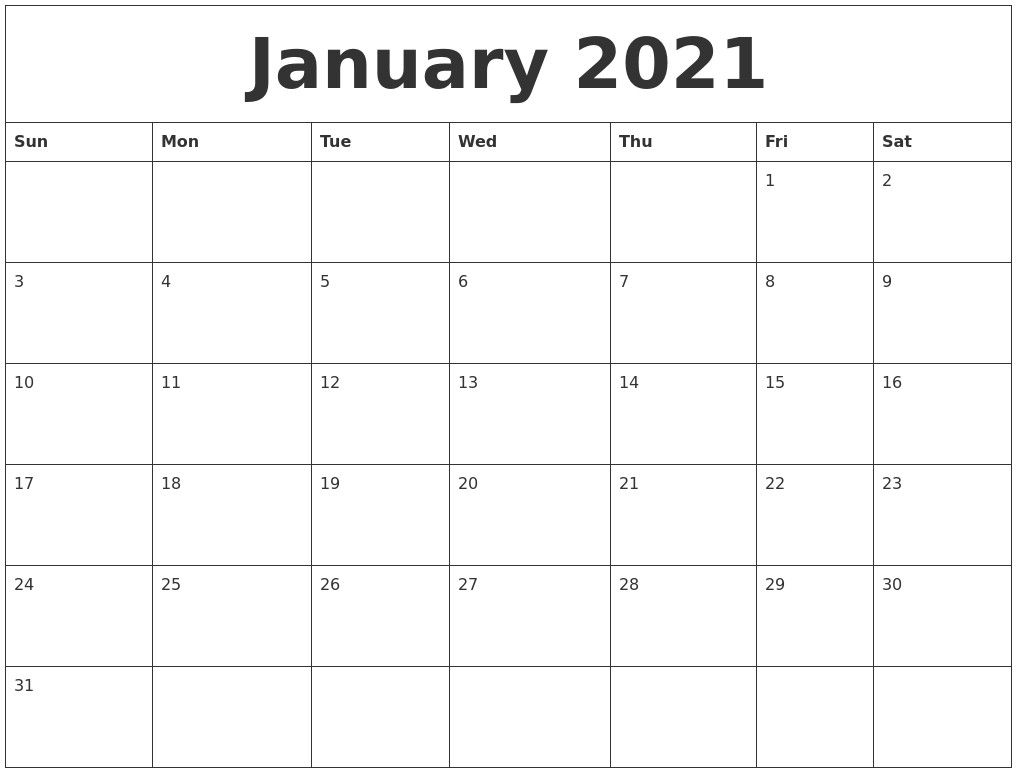 Print Monthly Calendar 2021 Free In 2020   Monthly Calendar With Moon Calendar 2021 Name And Date For Kids