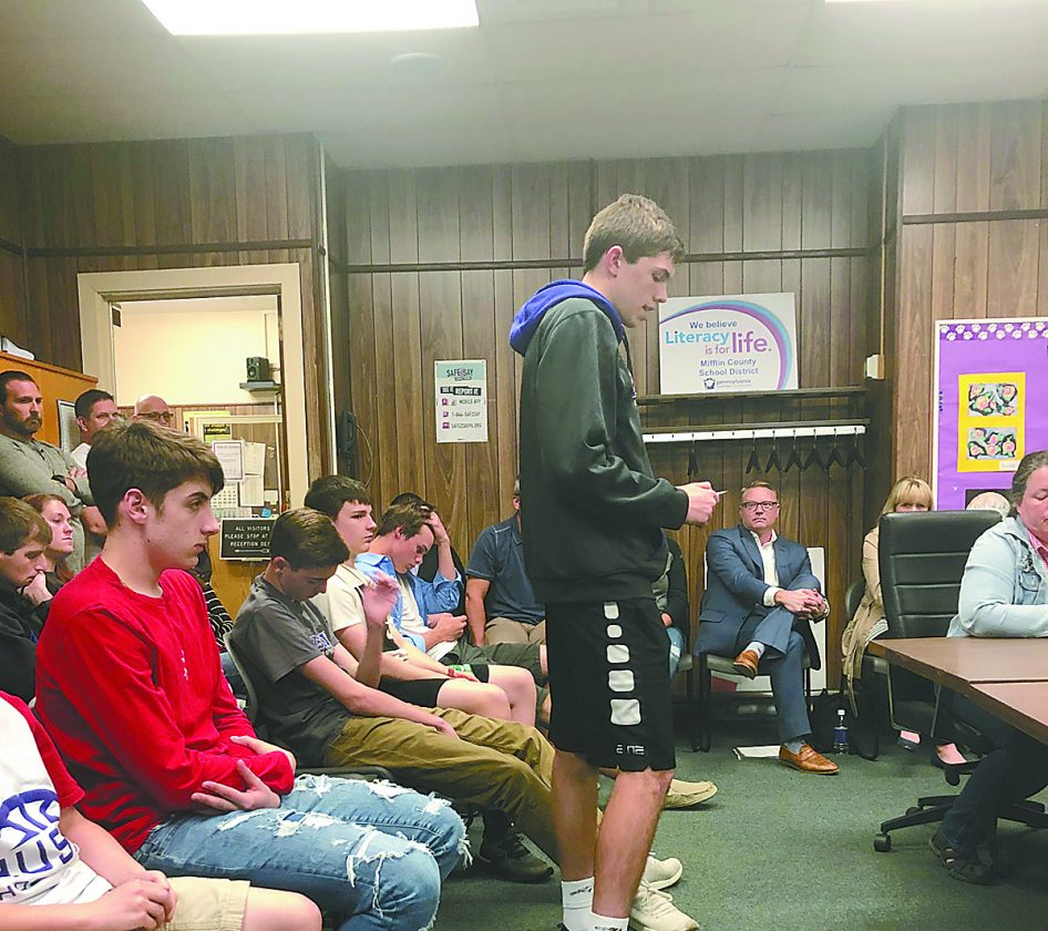 Public Shows Support For Coach | News, Sports, Jobs - The For Mifflin County School Calendar