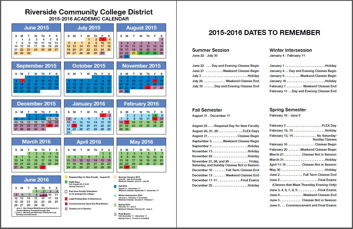 Rccd Academic Calendar | Class Schedules Fall 2006 – Fall Intended For University Of Redlands Academic Calendar 2020
