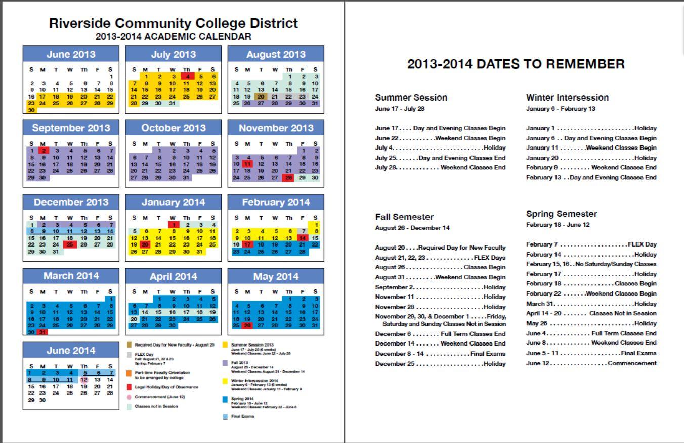 Rccd Academic Calendar   Class Schedules Fall 2006 – Fall Within Santa Monica College Academic Calendar