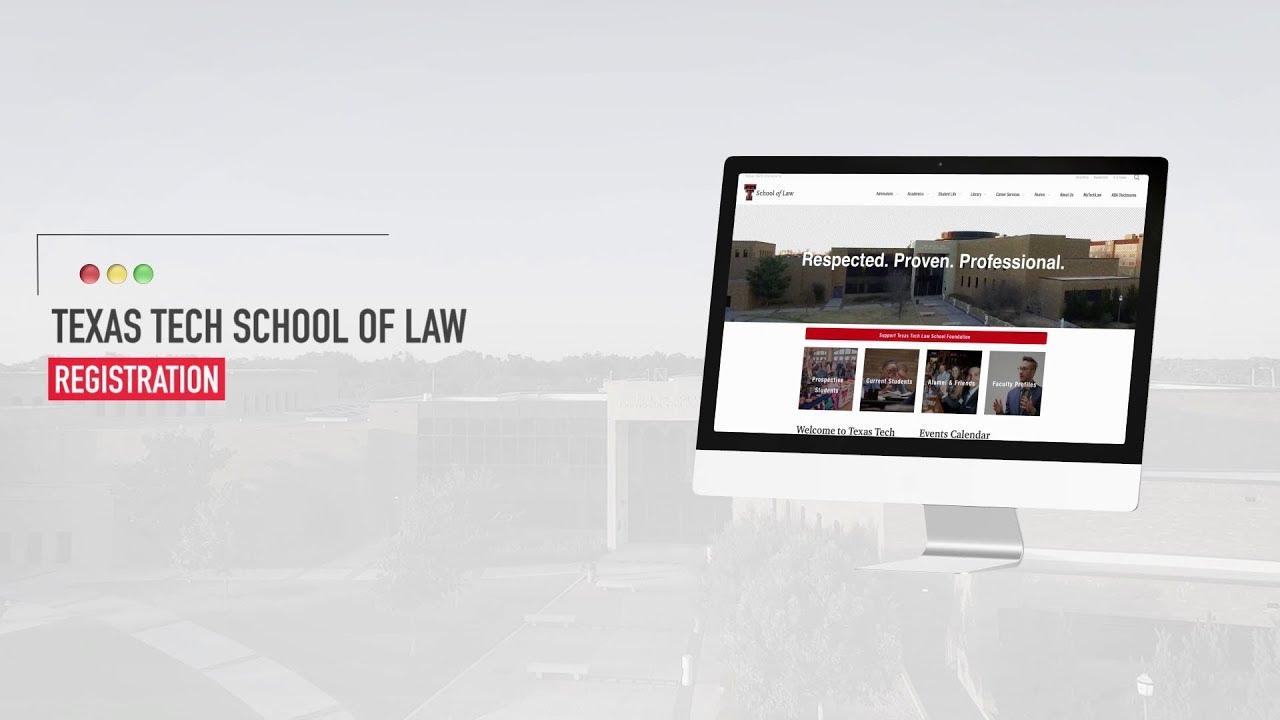 Registration Information | Office Of The Registrar Pertaining To Texas Tech School Of Law Calendar