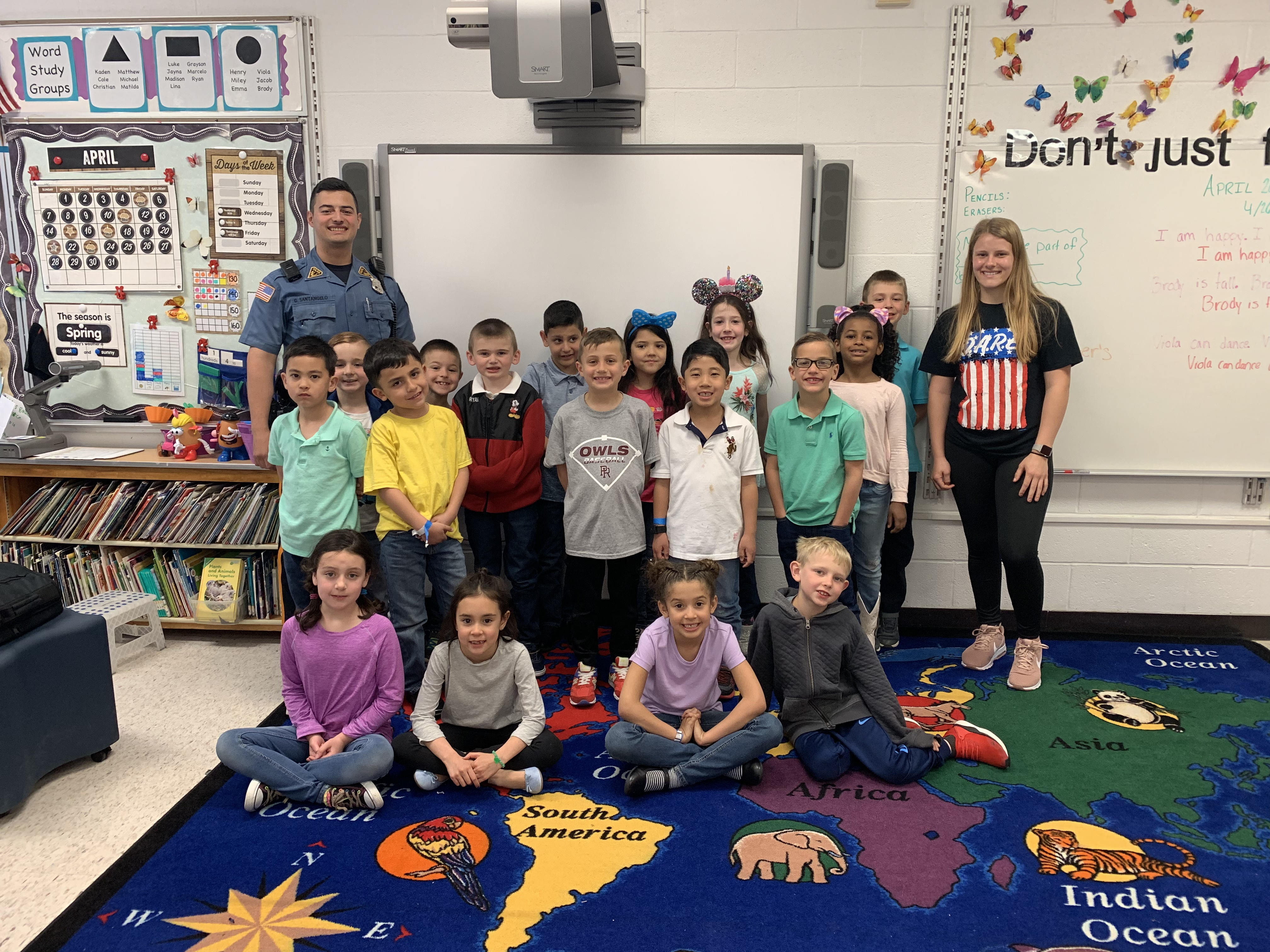 Report From Julia Manning, D.a.r.e. Youth Advocacy Board For Eastern York Sd First Day Of School