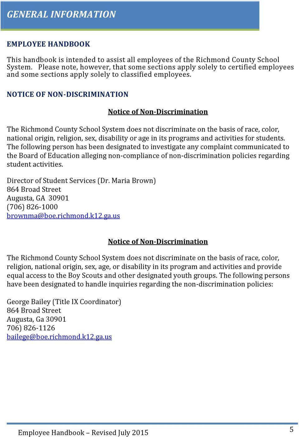 Richmond County School Calendar 2017 2018 Richmond County With Richmond County Board Of Education Ga Calendar