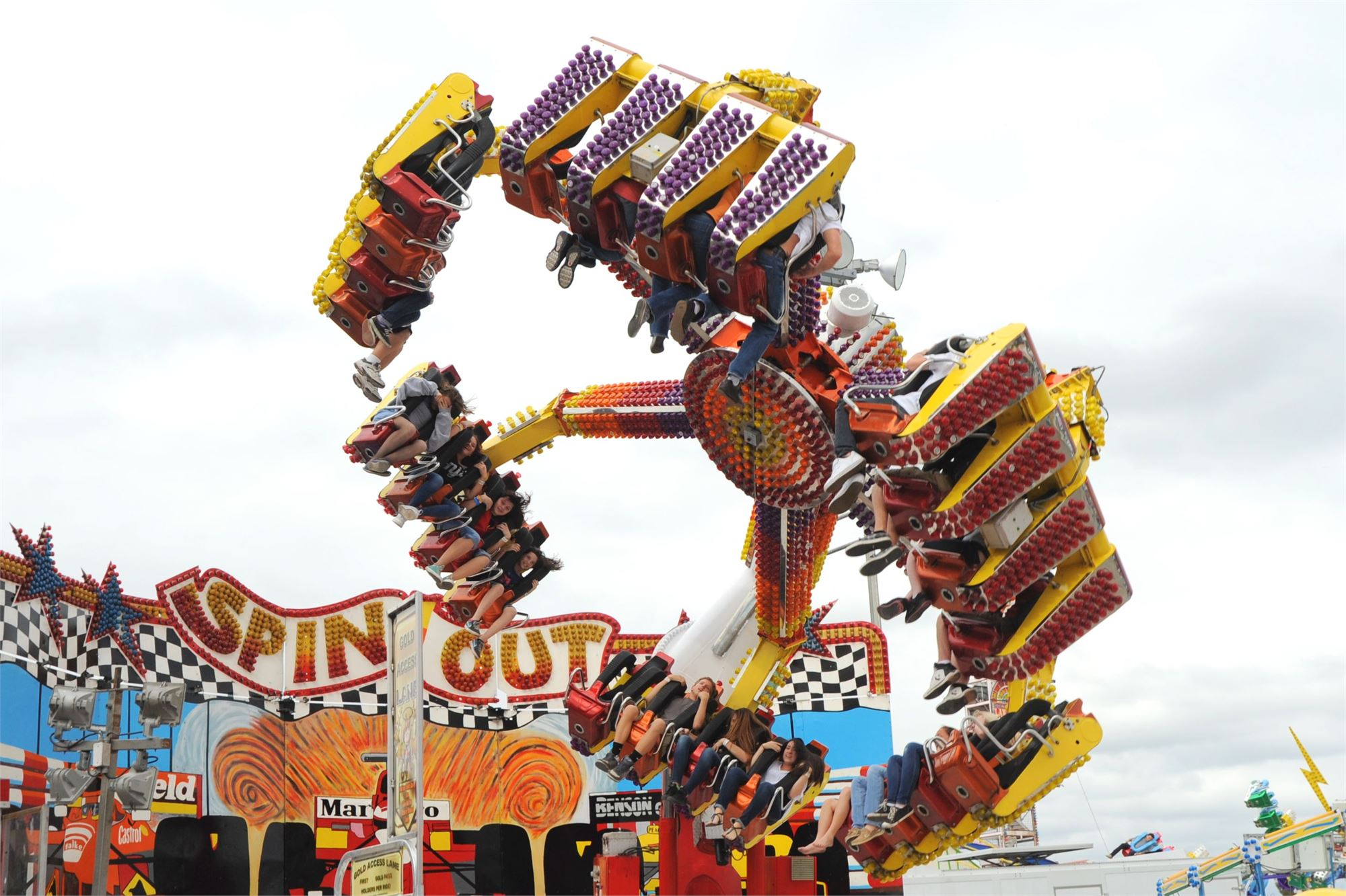 Ride Information With Calendar South Florida Fair