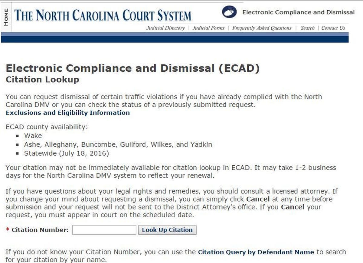 Rowan Da Rolls Out New System For Electronic Handling Of In Find My Nc Court Date Query By Defendant Name