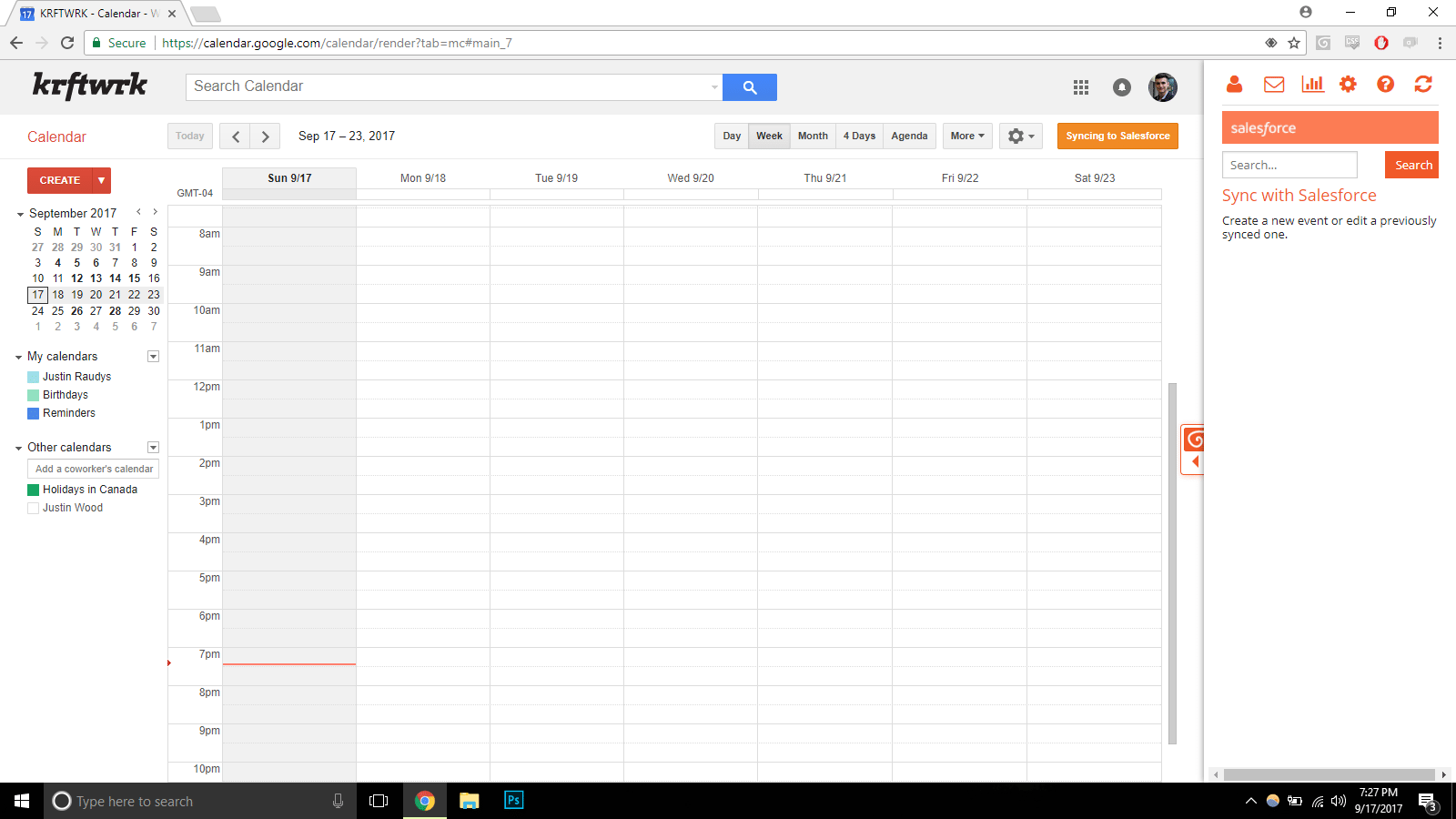 Salesforce Gmail Calendar Sync – Sync Your Gmail Calendar Intended For Does Gmail Have A Calendar