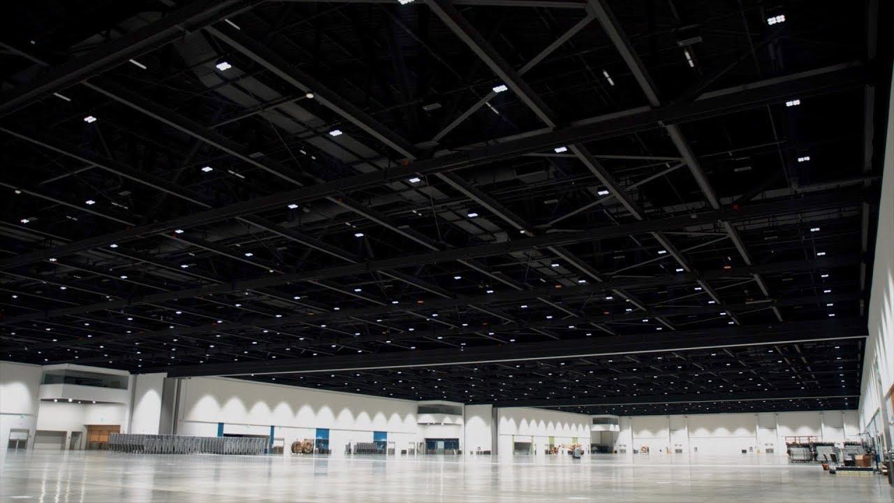 San Jose Mcenery Convention Center Gets High Tech Lighting Regarding San Jose Convention Calender