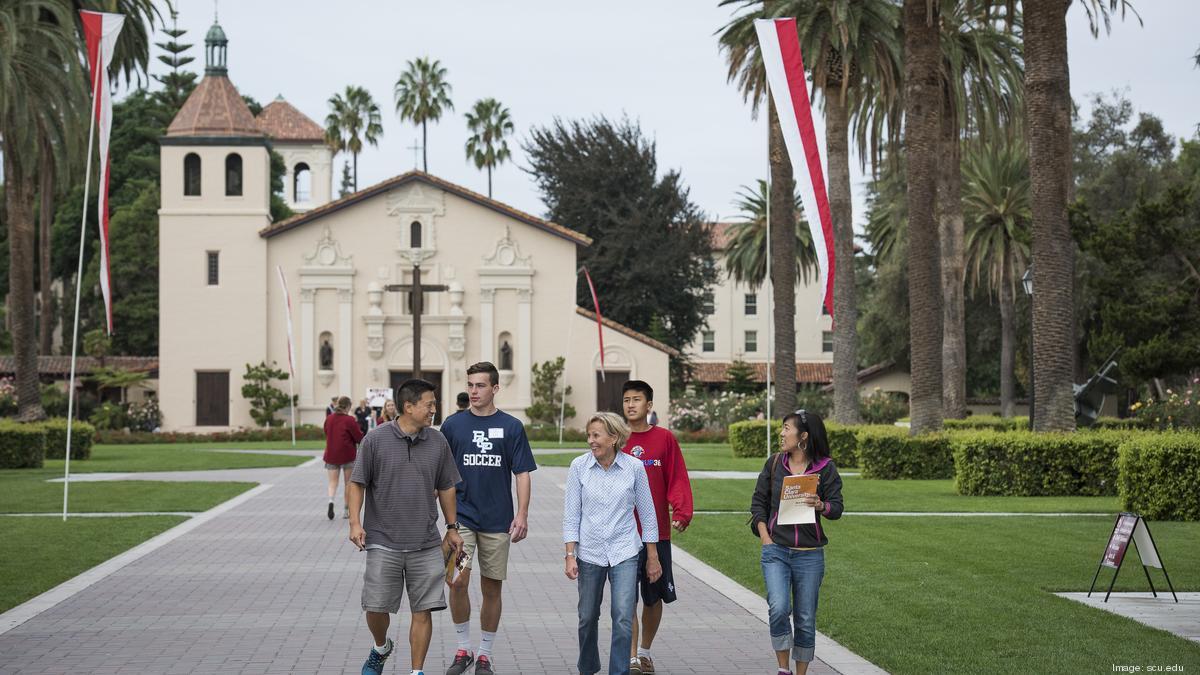 Santa Clara University Launches Fundraising Campaign Led Inside Santa Clara University Spring Break