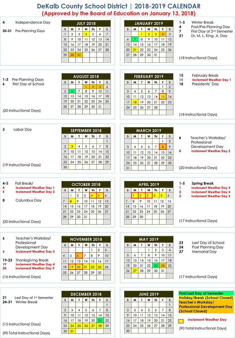 School Calendar Archives – Baverman Property Consultants With Regard To Fayette County Georgia School Calendar
