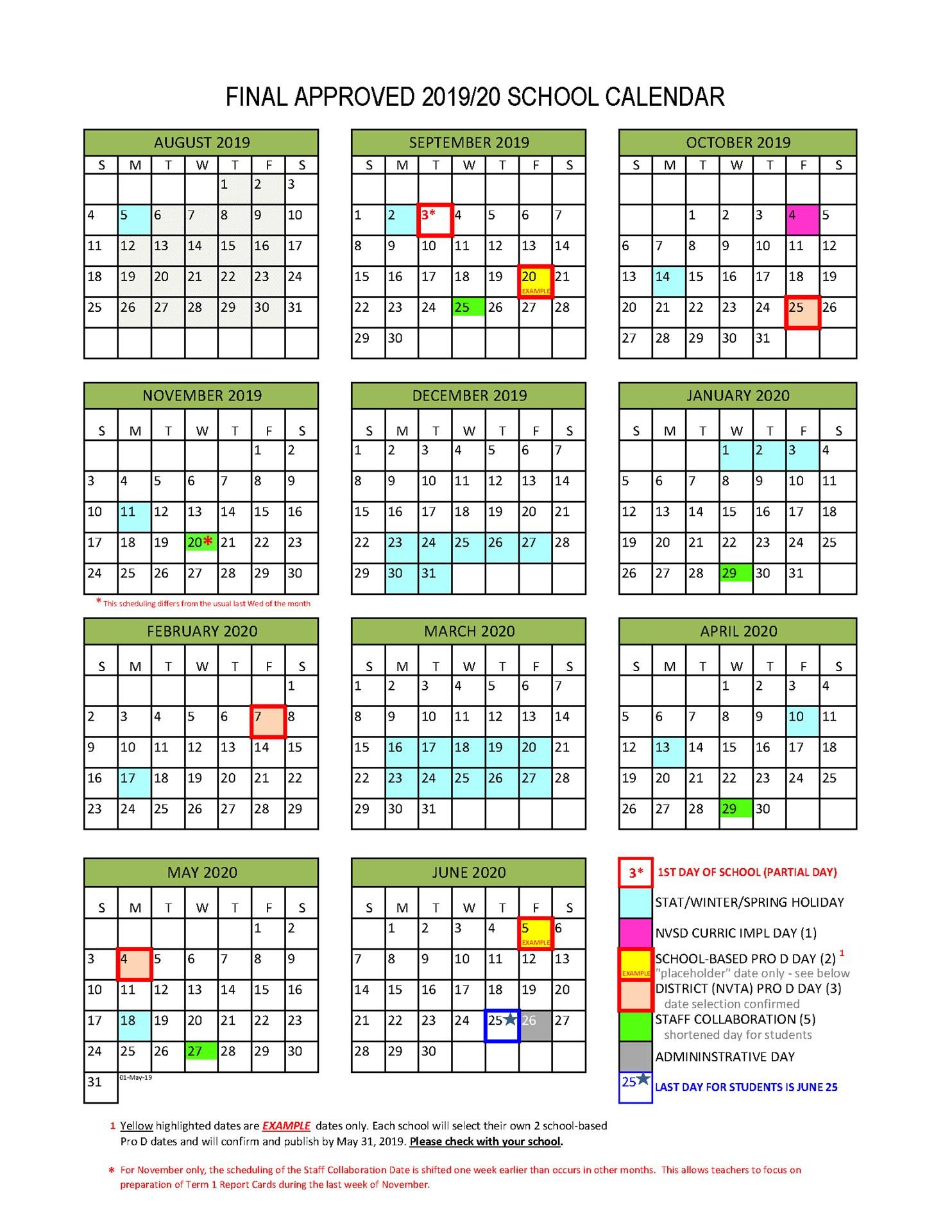 School Calendar | Coursework Sample March 2020 Pertaining To Corona Norco Usd Calendar