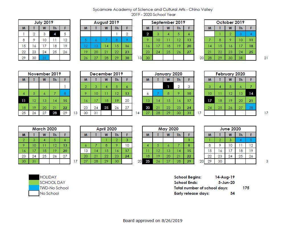 School Schedule And Calendar – Information For Parents Throughout Chino Hills High School Calendar 2021