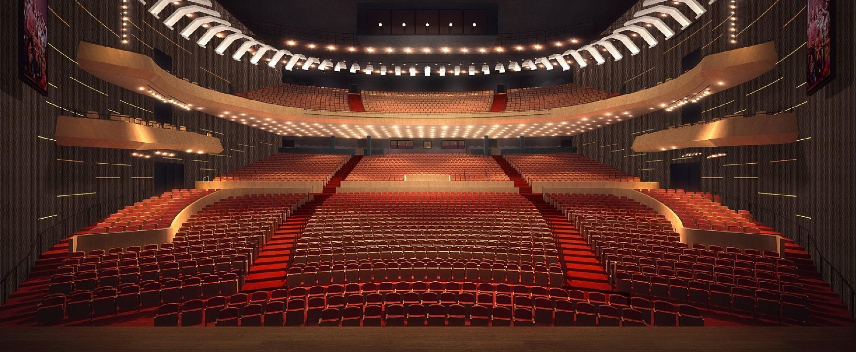 Seating Chart   Steven Tanger Center For The Performing Arts Within Oc Performing Arts Center Calendar