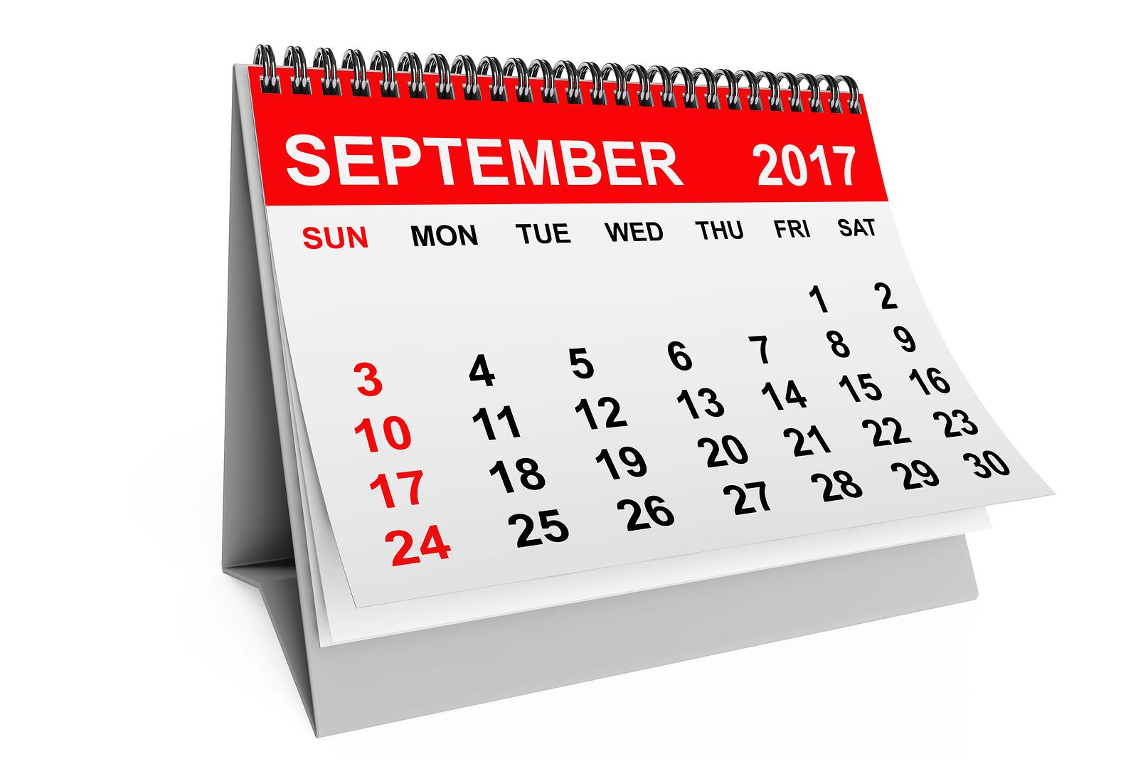 September 2017 Calendar Alerts - Fountain Valley High School For Fvhs School Calendar