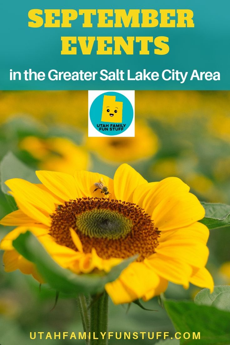 September 2019 Events In The Greater Salt Lake City Area Throughout Slc Calencar Of Events