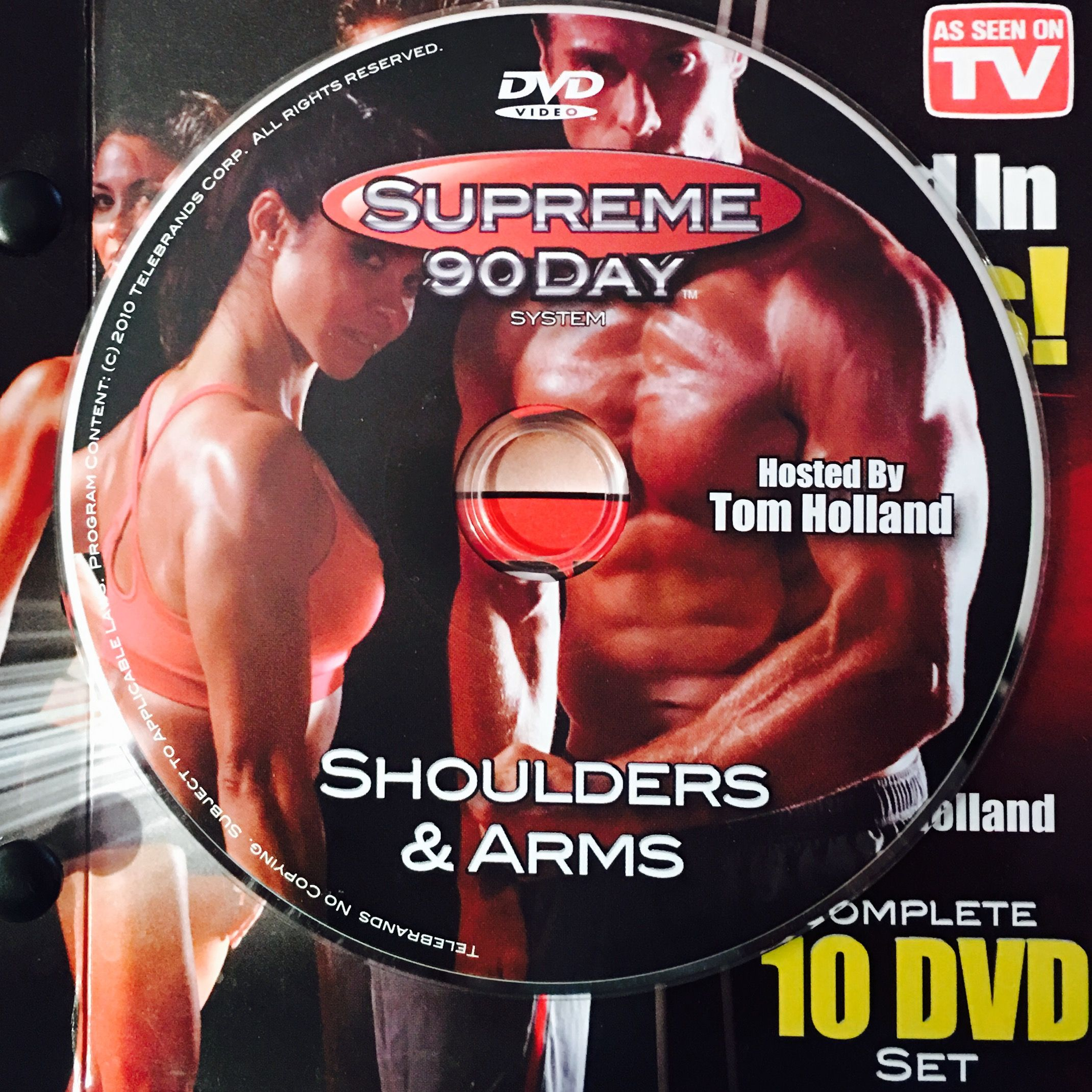 """Shoulders & Arms. **supreme 90Day System, """"get Ripped In With Regard To 90 Day Supreme Workout Schedule"""