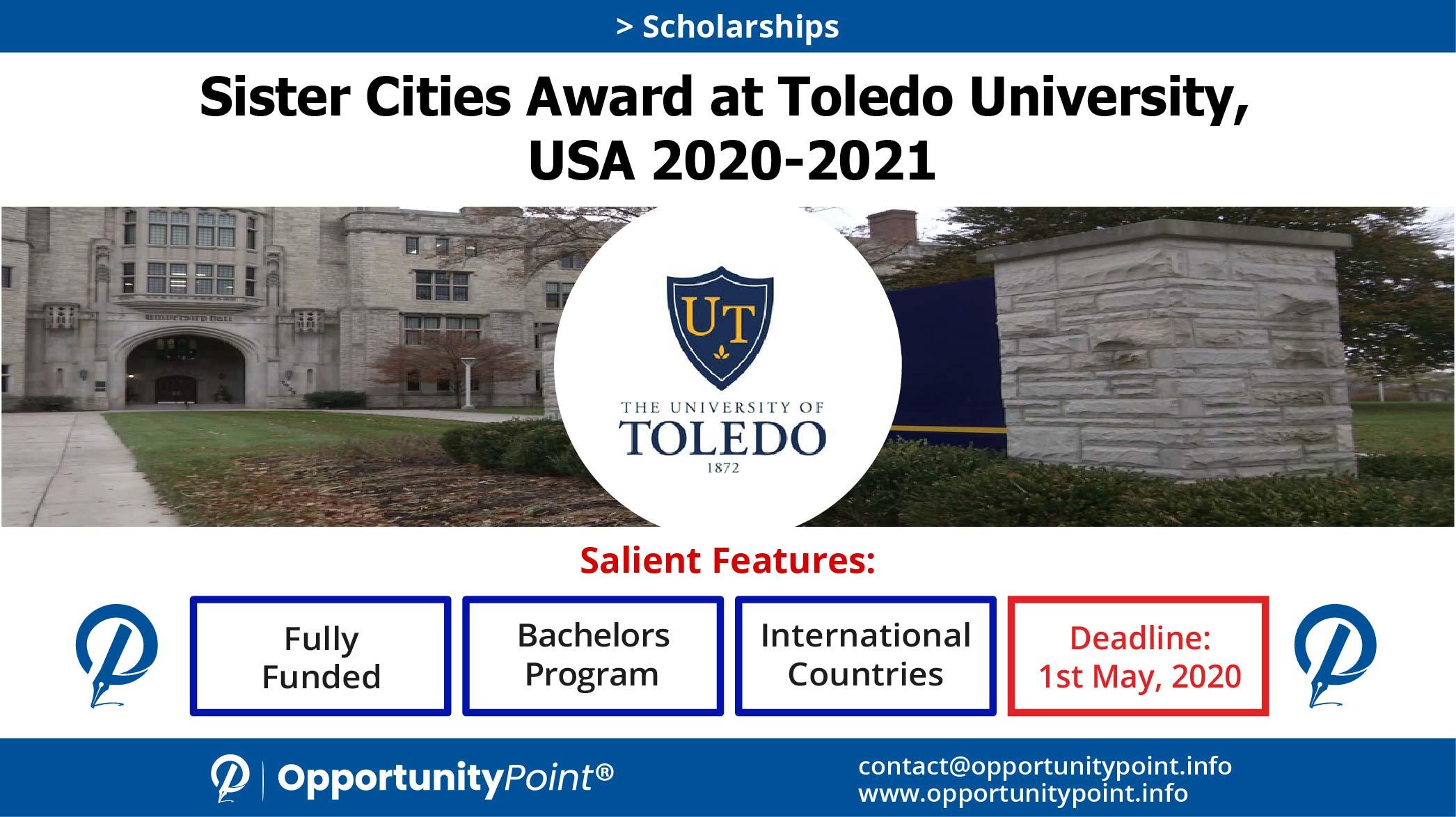 Sister Cities Award At Toledo University, Usa 2020 2021 Regarding U Of M Twin Cities 2020 2021 Calendar