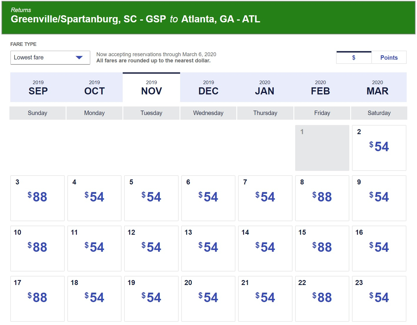 Southwest 4 Day Sale: $45 Flights One Way – Points With A Crew Throughout Frontier Airlines Low Fare Calendar
