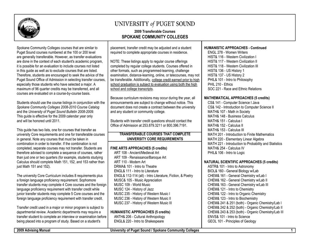 Spokane Community Colleges With Spokane Community Colleges Academic Calendar