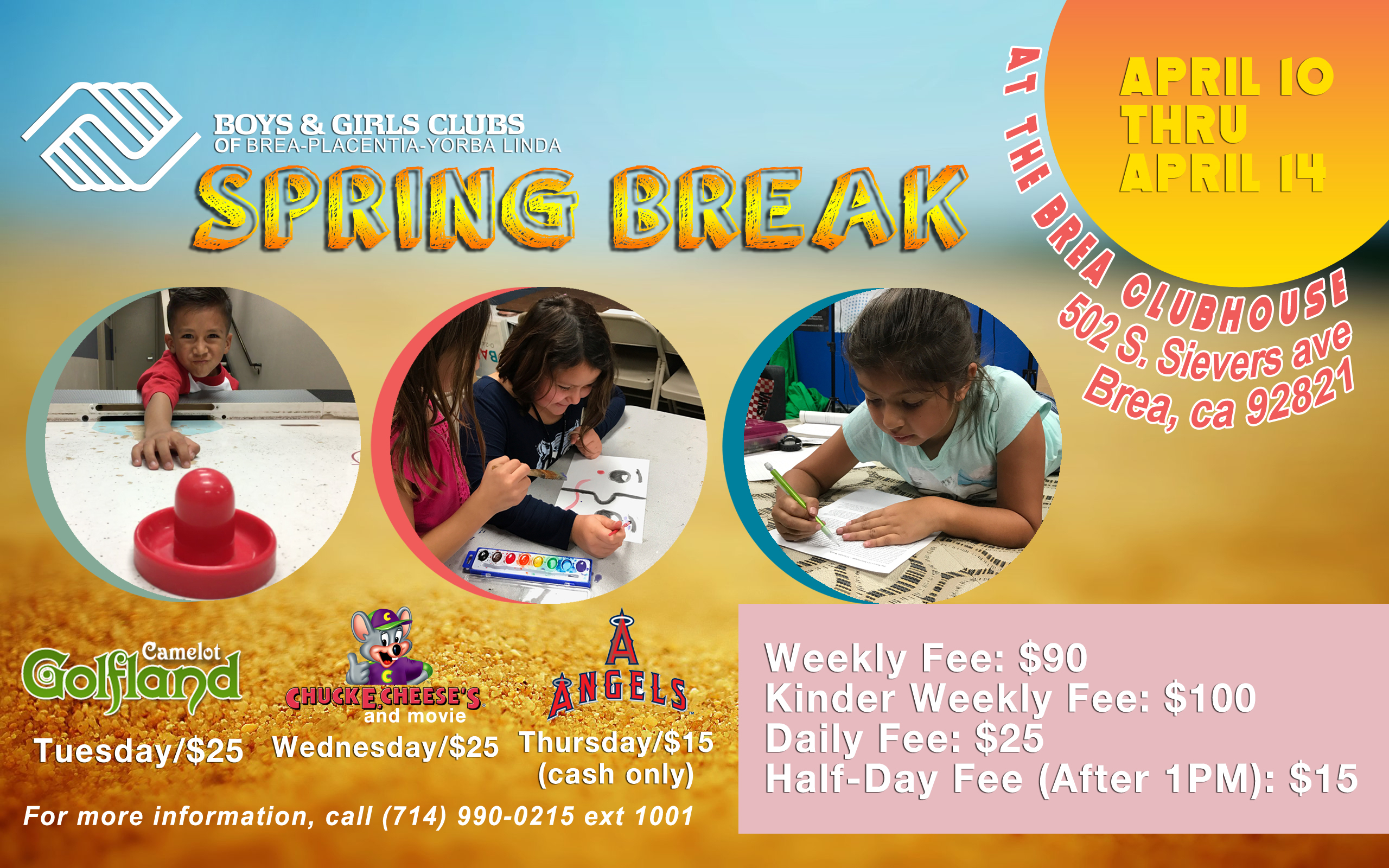 Spring Break At The Club | Boys & Girls Clubs with Boys And Girls Club Spring Break